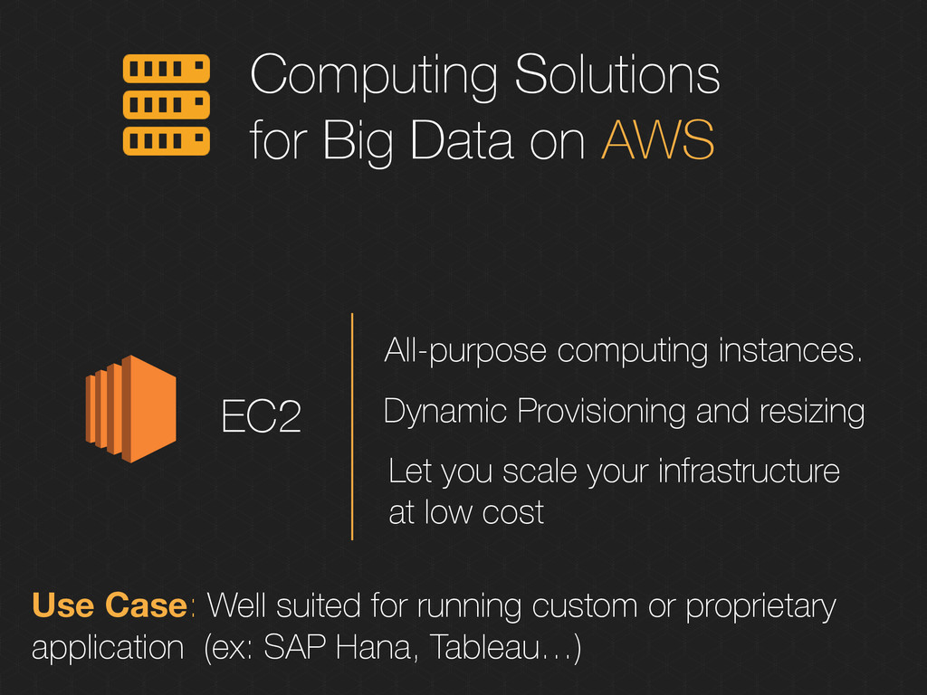 Computing Solutions for Big Data on AWS EC2 All...