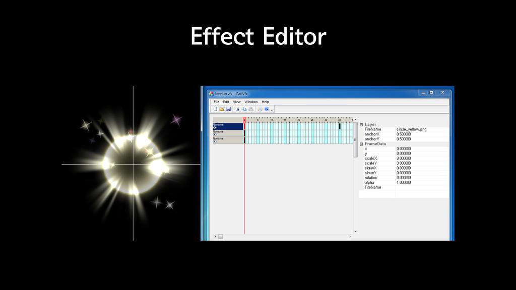 Effect Editor