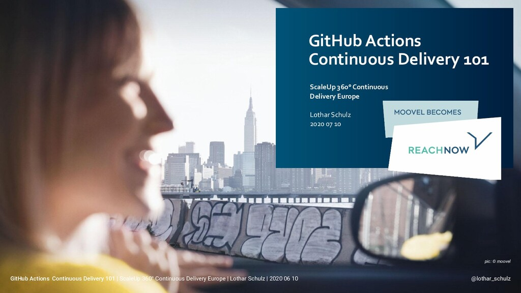 GitHub Actions Continuous Delivery 101 ScaleUp ...