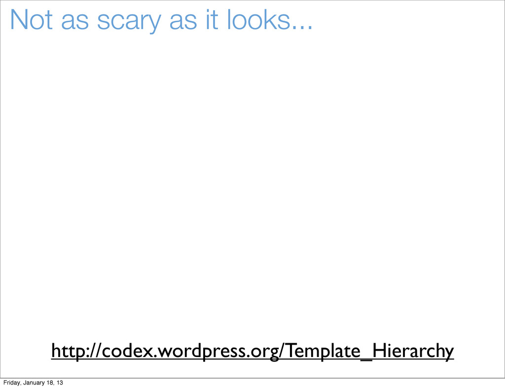 Not as scary as it looks... http://codex.wordpr...
