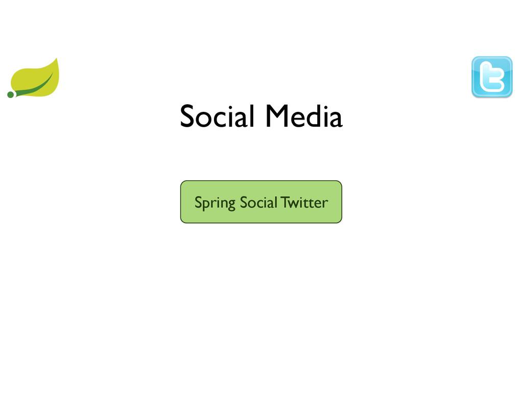 Social Media Spring Social Twitter