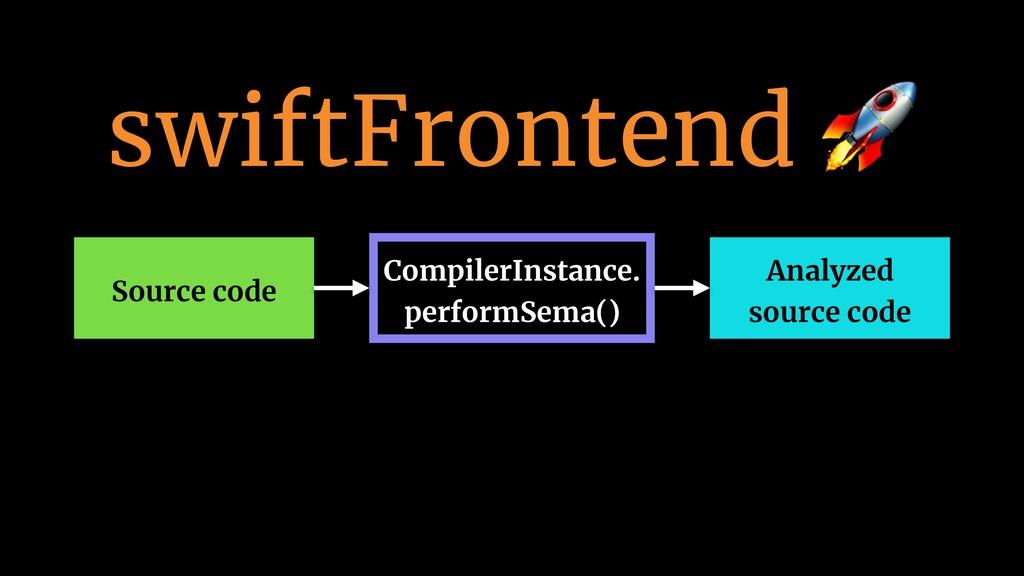 swiftFrontend  Source code CompilerInstance. pe...