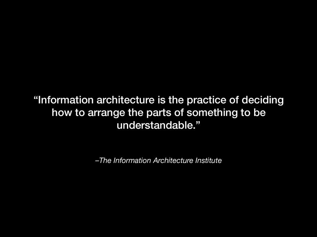 "–The Information Architecture Institute ""Inform..."