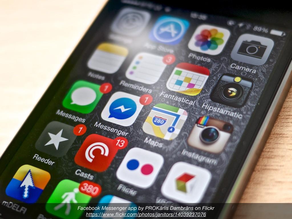 Facebook Messenger app by PROKārlis Dambrāns on...