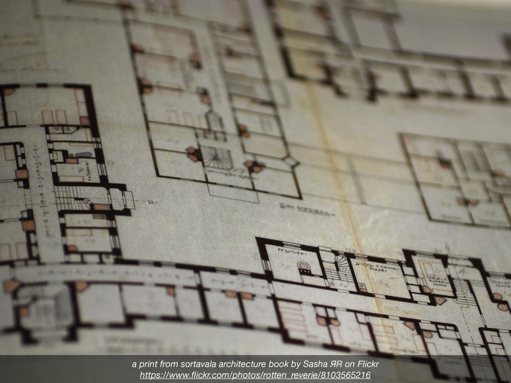 а print from sortavala architecture book by Sas...