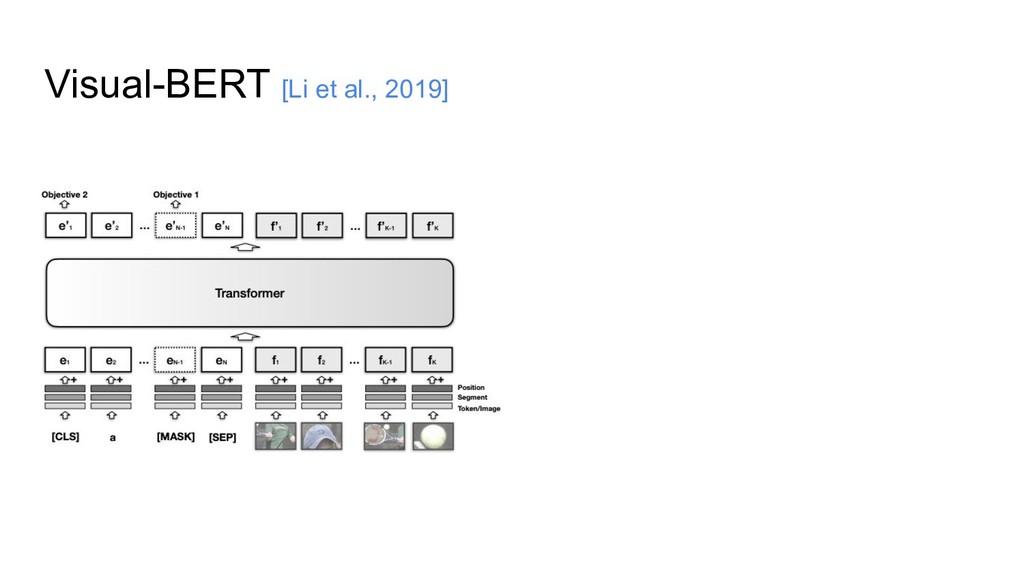 Visual-BERT [Li et al., 2019]