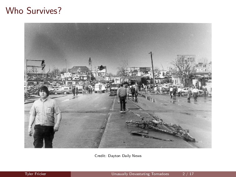Who Survives? Credit: Dayton Daily News Tyler F...