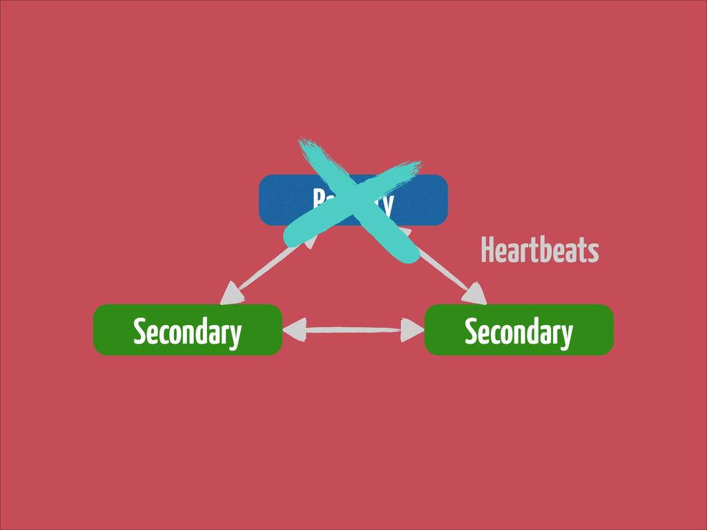 Primary Secondary Secondary Heartbeats