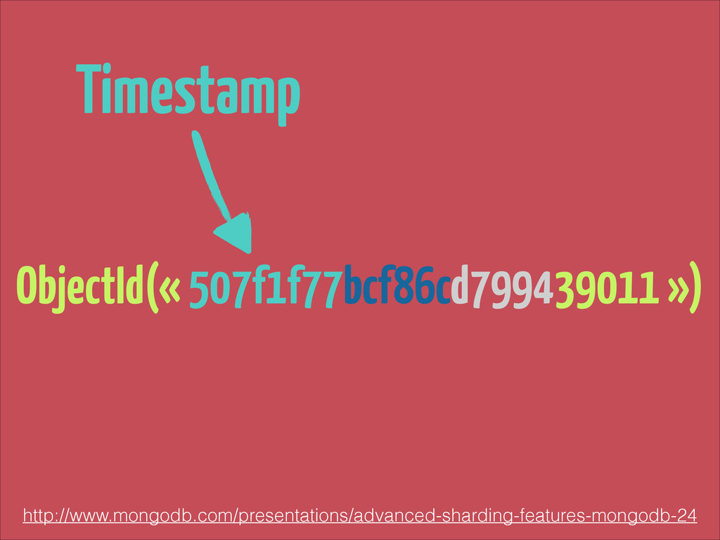 ObjectId(« 507f1f77bcf86cd799439011 ») http://w...