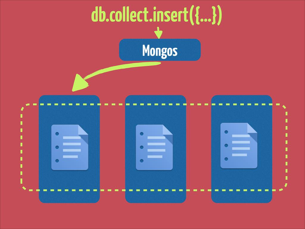 Mongos db.collect.insert({…})
