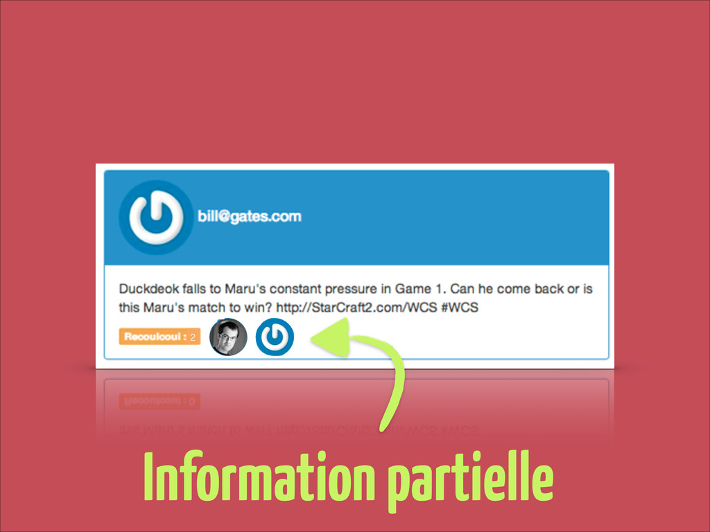 2 Information partielle