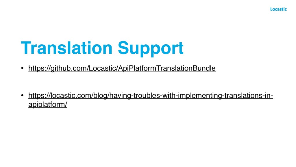 Translation Support • https://github.com/Locast...