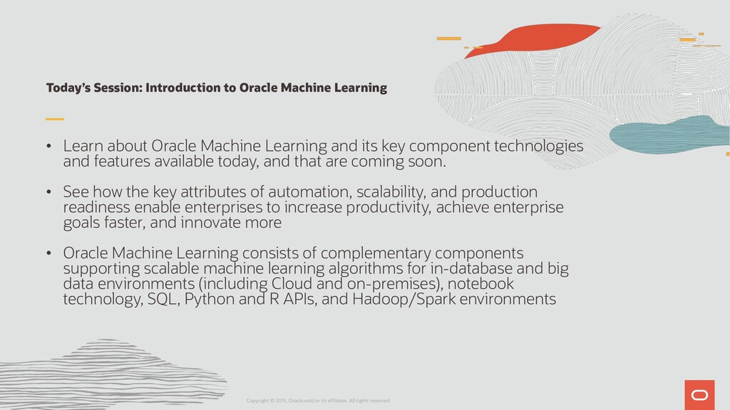 Today's Session: Introduction to Oracle Machine...