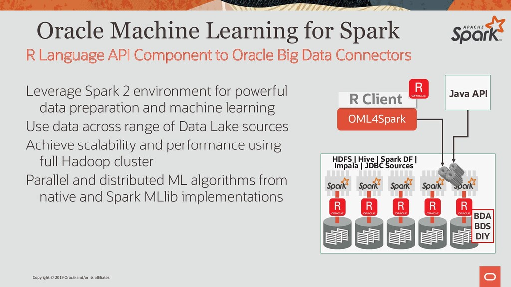 Oracle Machine Learning for Spark Leverage Spar...