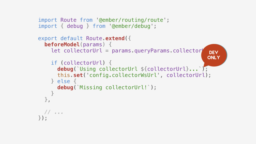 import Route from '@ember/routing/route'; impor...