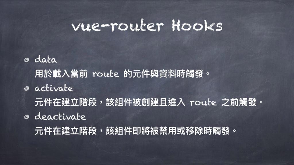 vue-router Hooks data አෝ斉獈吚獮 route ጱزկ膏虻碘碻藉咳牐 ...