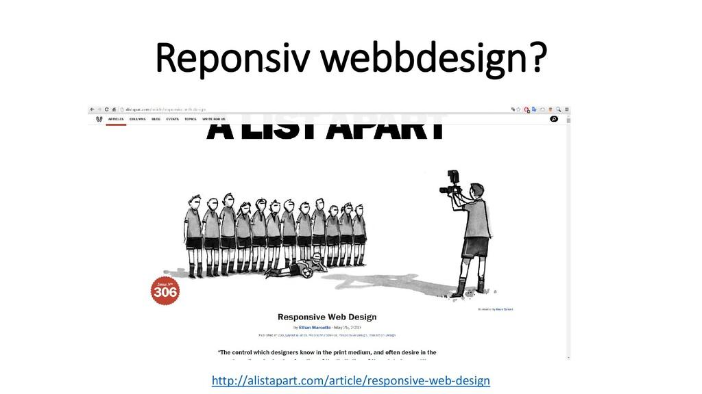Reponsiv webbdesign? http://alistapart.com/arti...