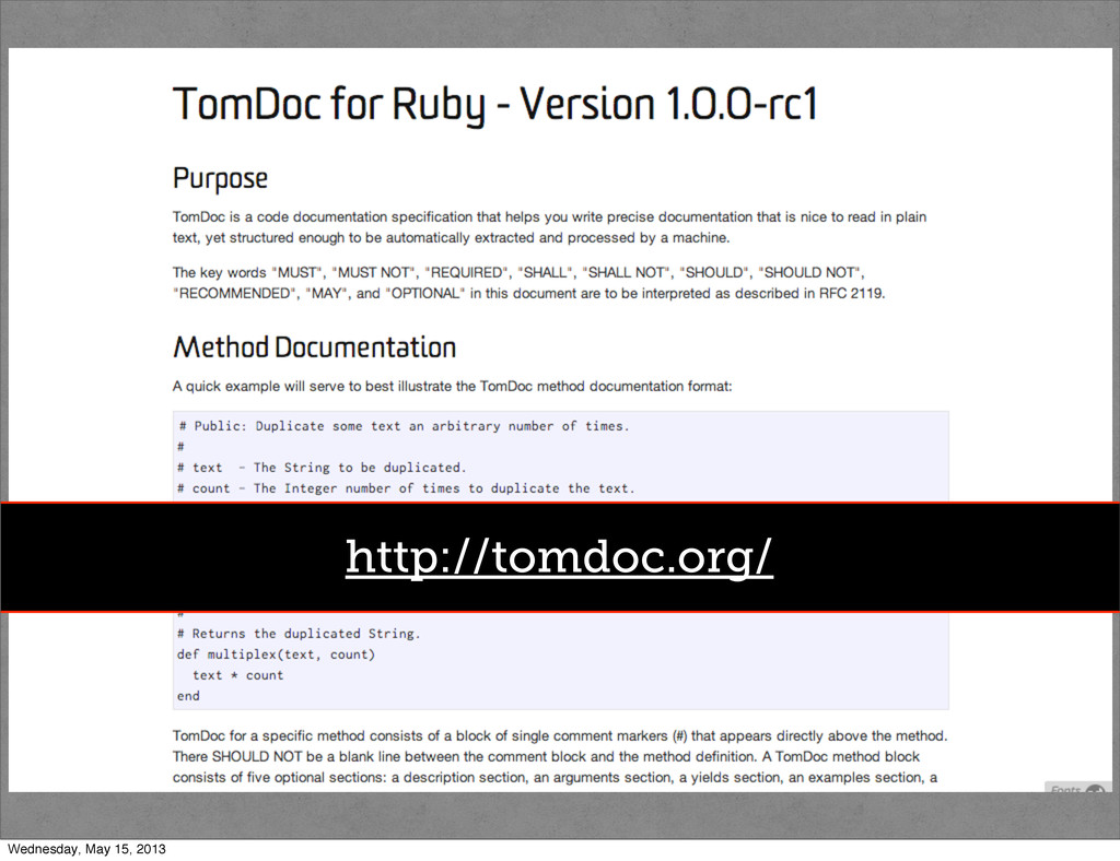 http://http://guides.rubygems.org/ http://tomdo...