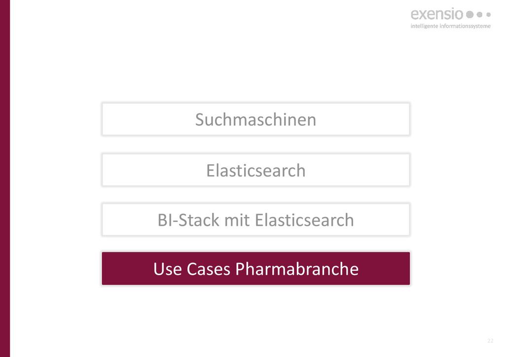 22 Elasticsearch BI-Stack mit Elasticsearch Use...