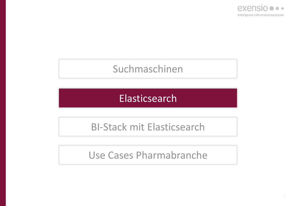 7 Elasticsearch BI-Stack mit Elasticsearch Use ...
