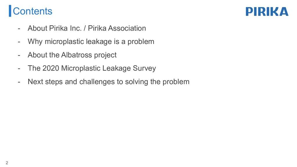 Contents 2 - About Pirika Inc. / Pirika Associa...