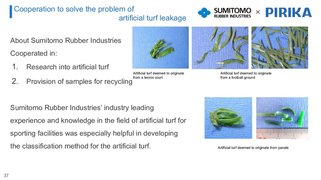 About Sumitomo Rubber Industries Cooperated in:...