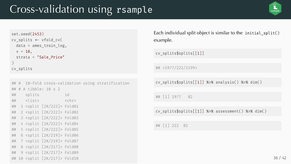 set.seed(2453) cv_splits vfold_cv( data = ames_...