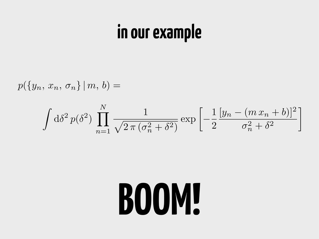 Z d 2 p( 2 ) N Y n=1 1 p 2 ⇡ ( 2 n + 2 ) exp  ...