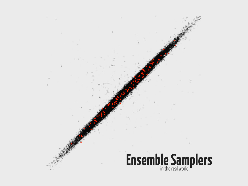 Ensemble Samplers in the real world