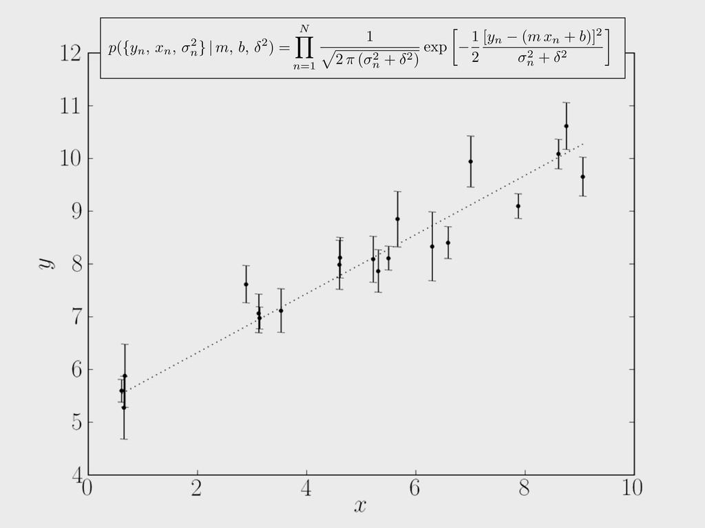 N Y n=1 1 p 2 ⇡ ( 2 n + 2 ) exp  1 2 [yn (m xn...