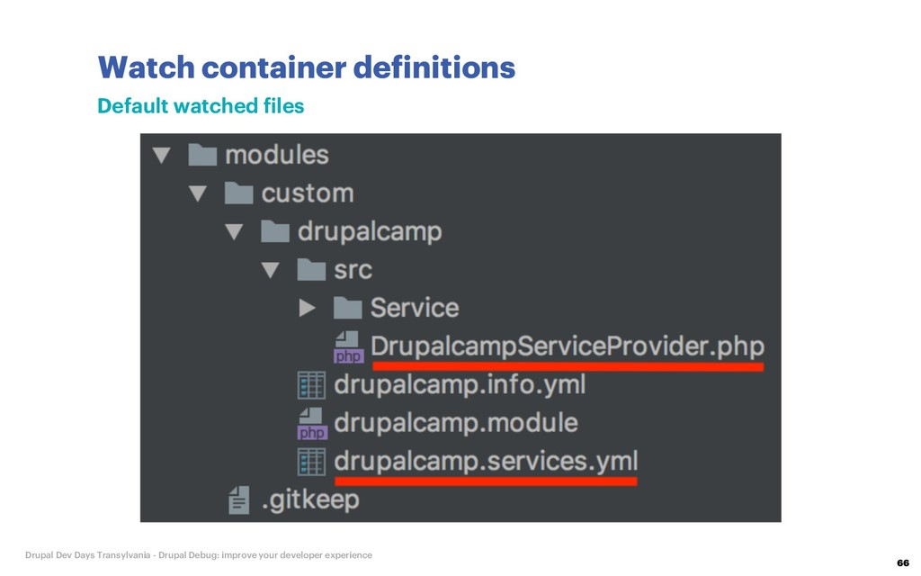 Watch container definitions 66 Drupal Dev Days ...