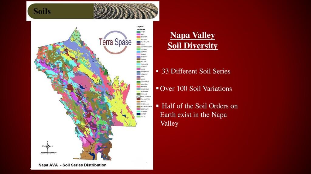 6 ▪ 33 Different Soil Series ▪Over 100 Soil Var...