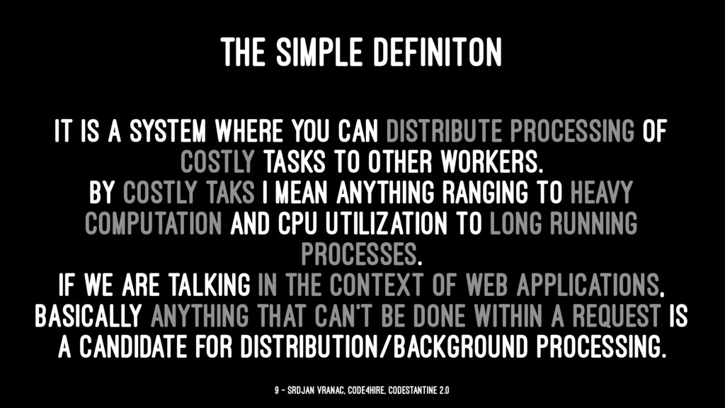 THE SIMPLE DEFINITON It is a system where you c...