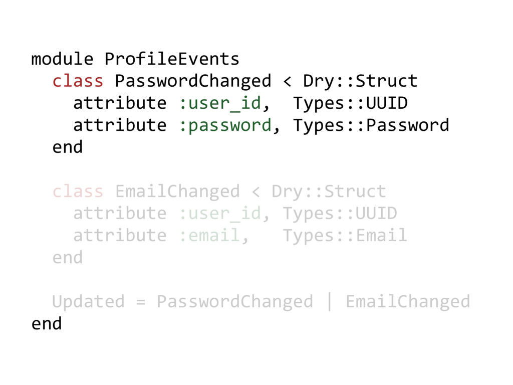 module ProfileEvents class PasswordChanged < Dr...