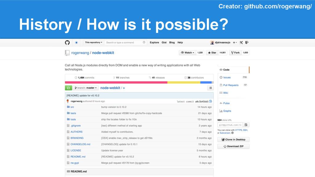 History / How is it possible? Creator: github.c...