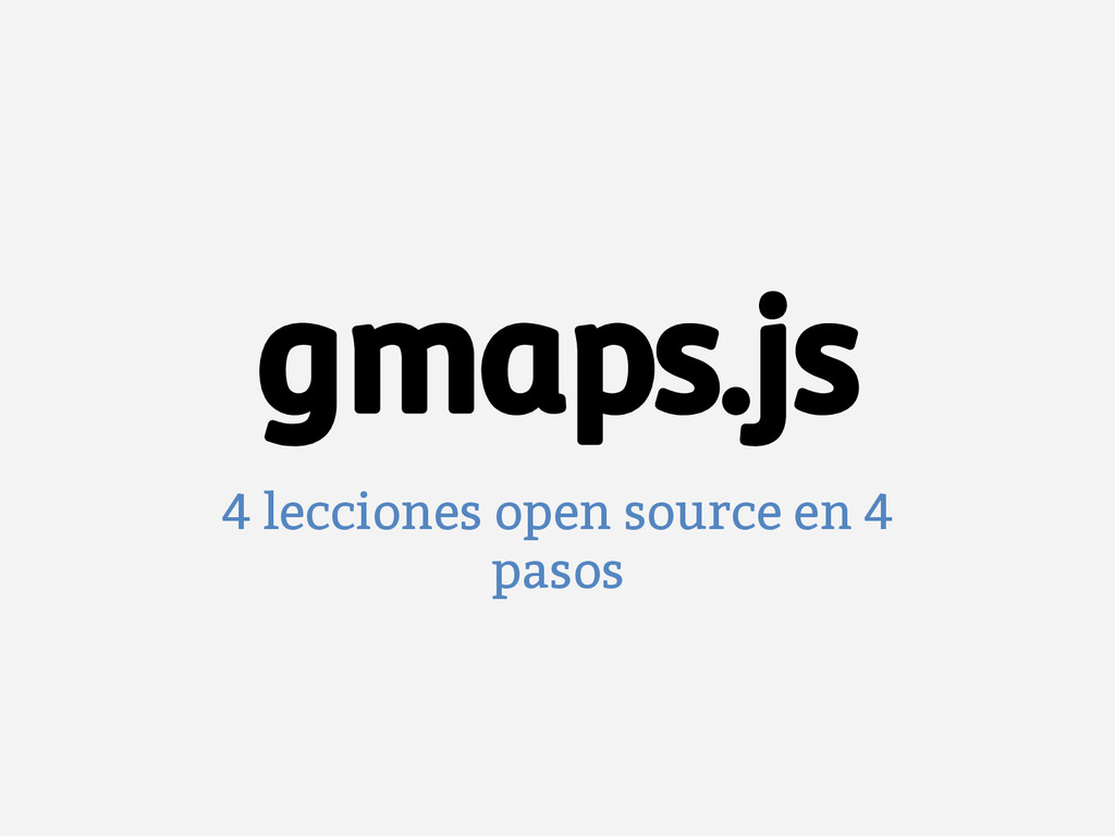 4 lecciones open source en 4 pasos