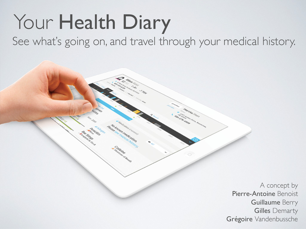 Your Health Diary See what's going on, and trav...