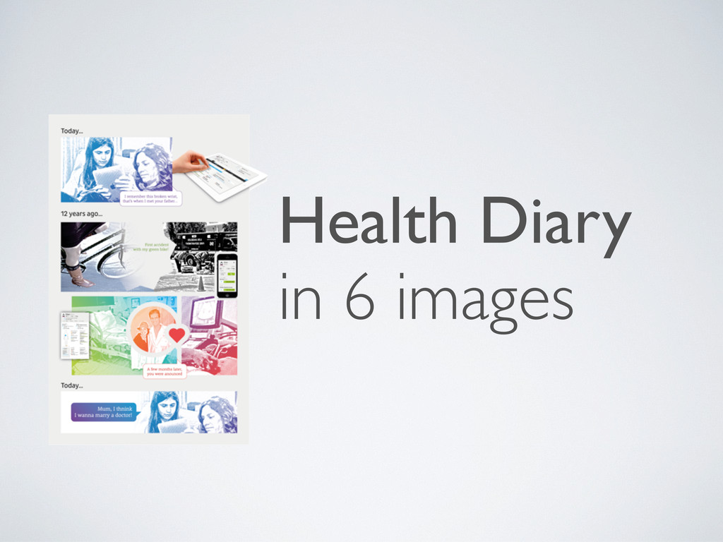 Health Diary in 6 images