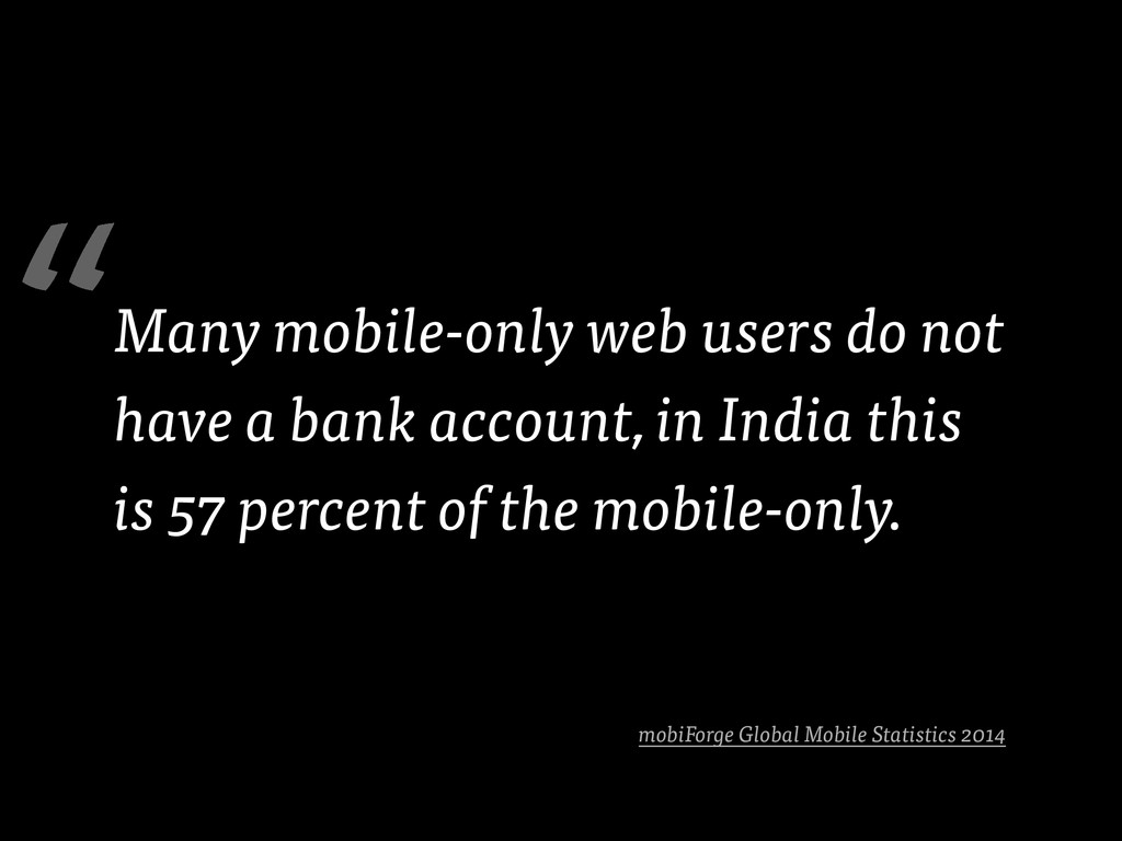 mobiForge Global Mobile Statistics 2014 Many mo...