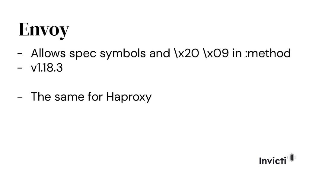 Envoy - Allows spec symbols and \x20 \x09 in :m...