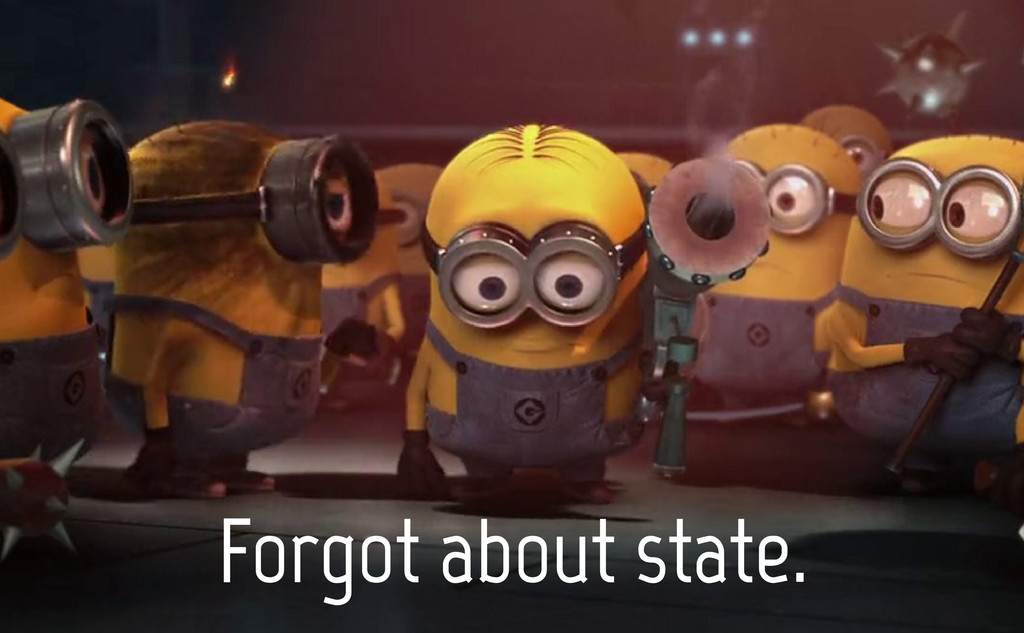 Forgot about state.