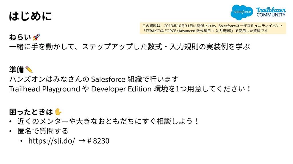 ✏ Salesforce Trailhead Playground Developer Ed...