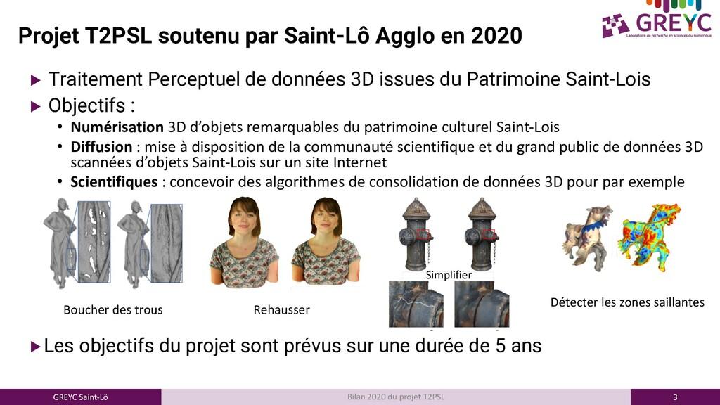 3 GREYC Saint-Lô Bilan 2020 du projet T2PSL Pro...