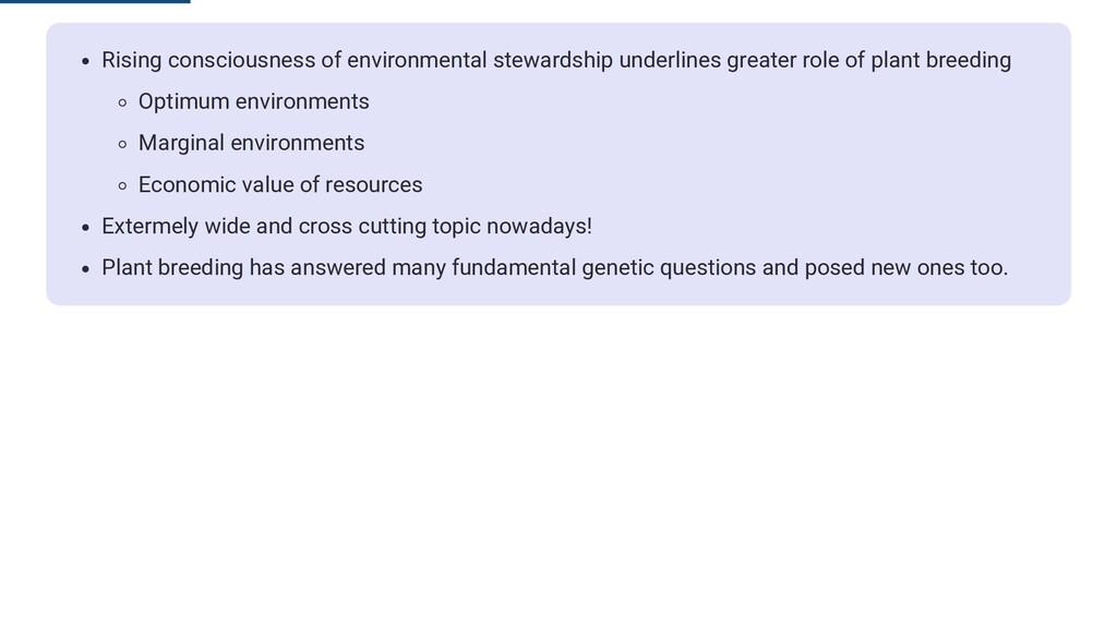 Rising consciousness of environmental stewardsh...