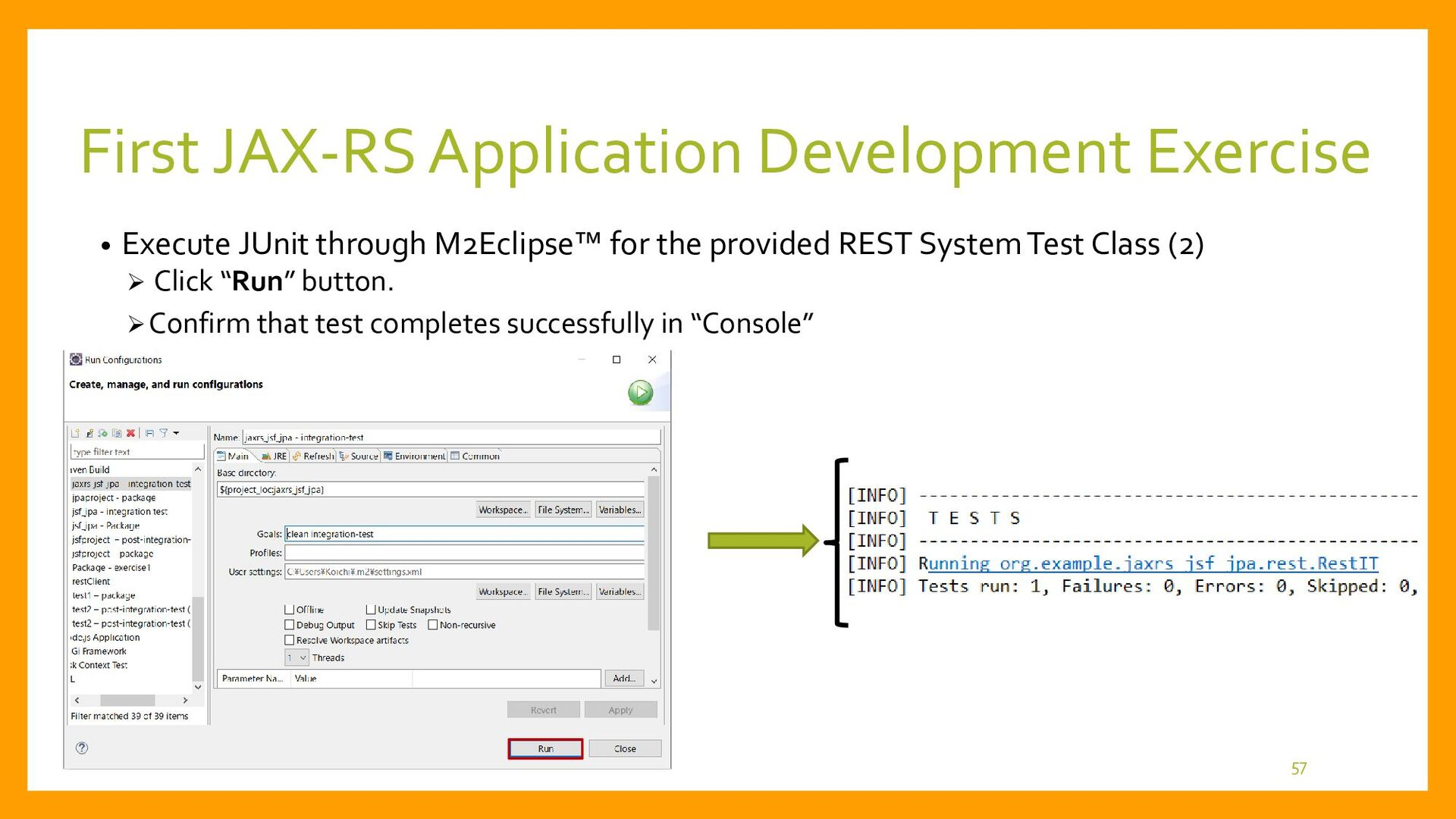 First JAX-RS Application Development • Final Ja...