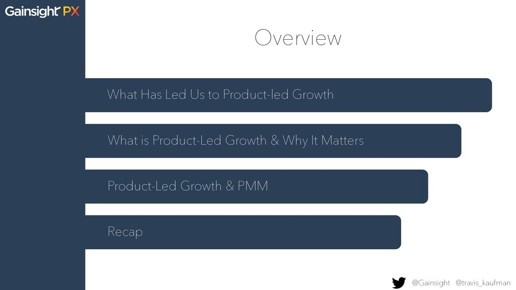 Overview What Has Led Us to Product-led Growth ...