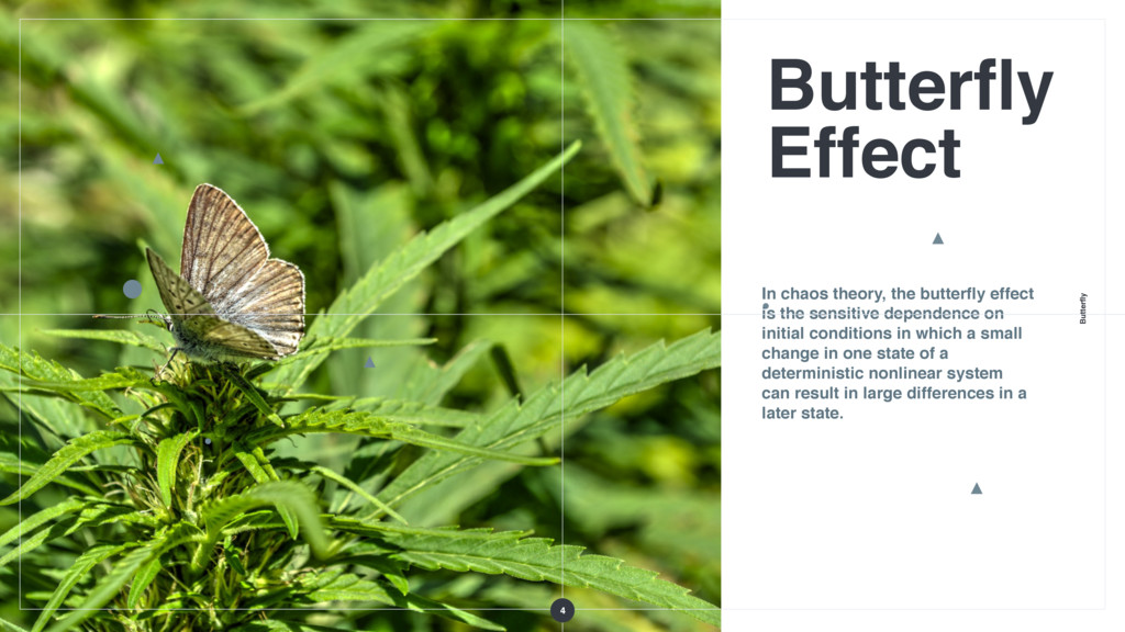 Butterfly Butterfly Effect In chaos theory, the b...