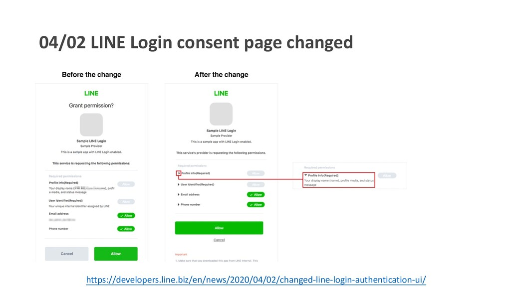 04/02 LINE Login consent page changed https://d...