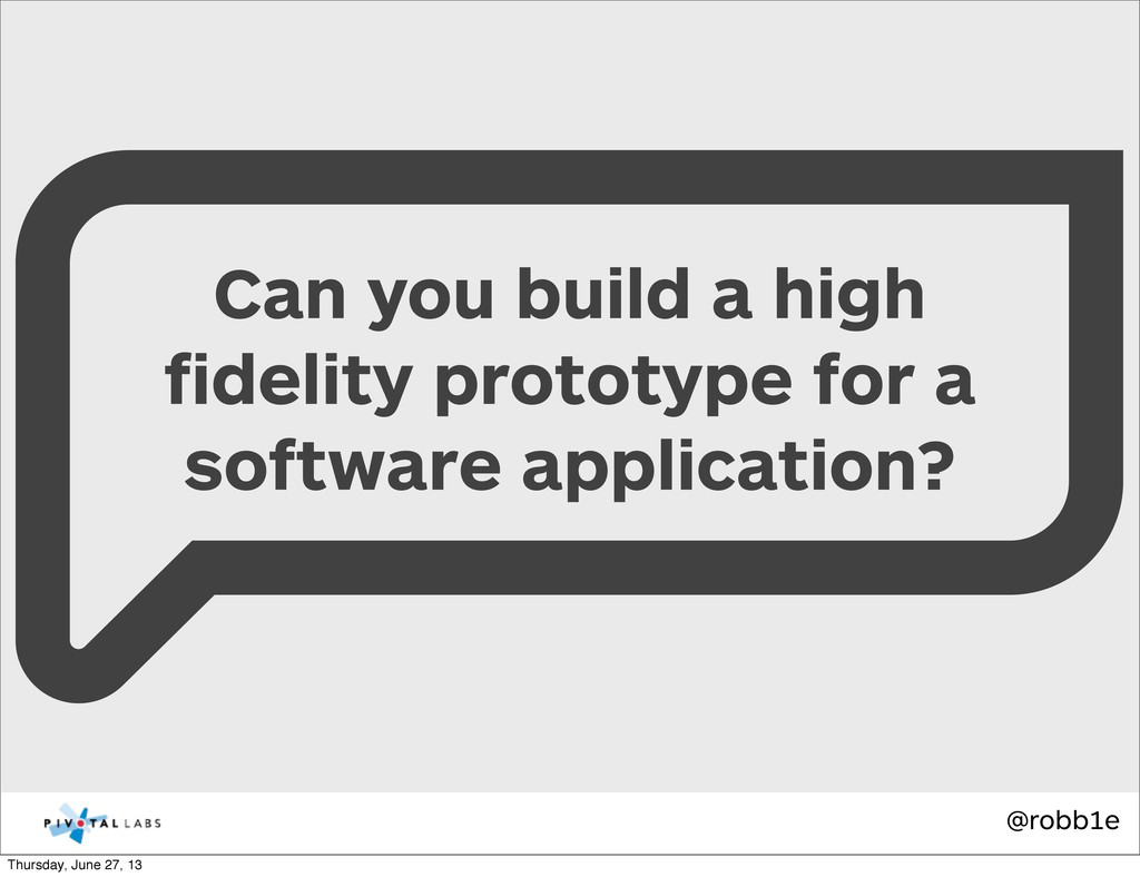 @robb1e Can you build a high fidelity prototype ...