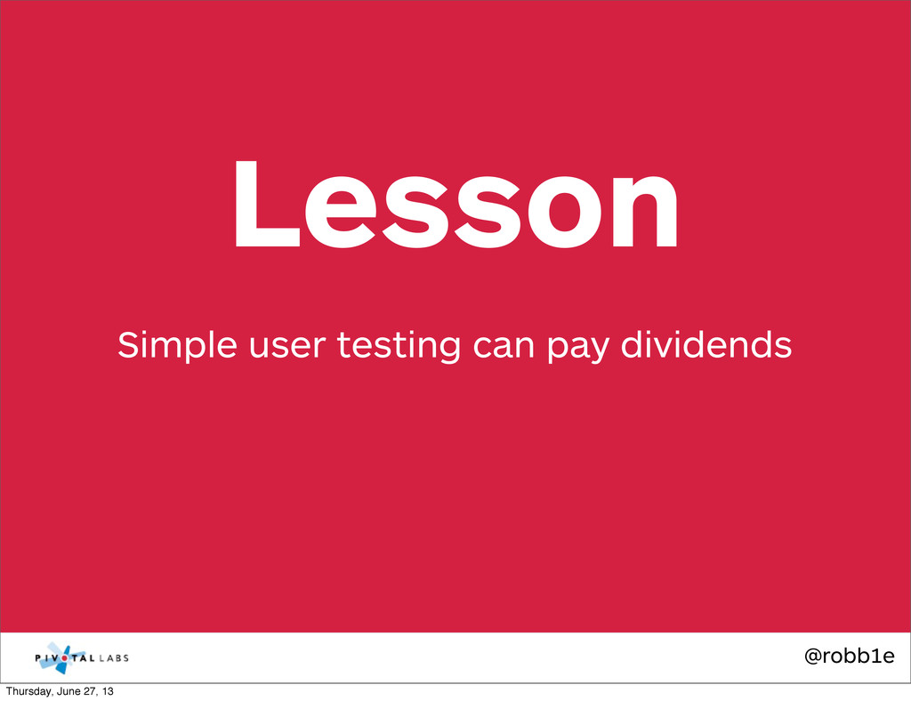 @robb1e Simple user testing can pay dividends L...